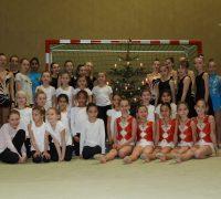 Weihnachtsschauturnen der Gymnastinnen und Sportaerobicerinnen